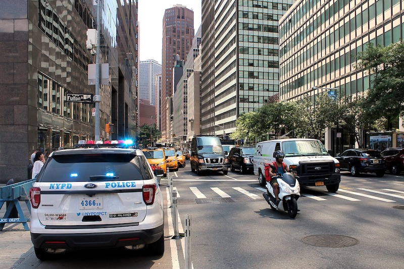 A traffic stop could lead to serious consequences